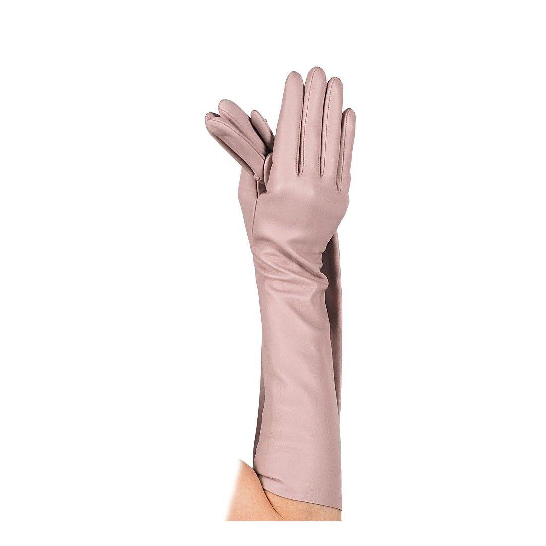 Guante largo de piel - Santacana - 1